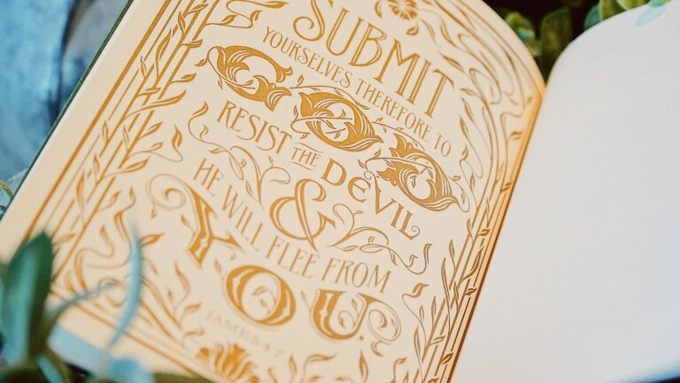 James hand-lettering book